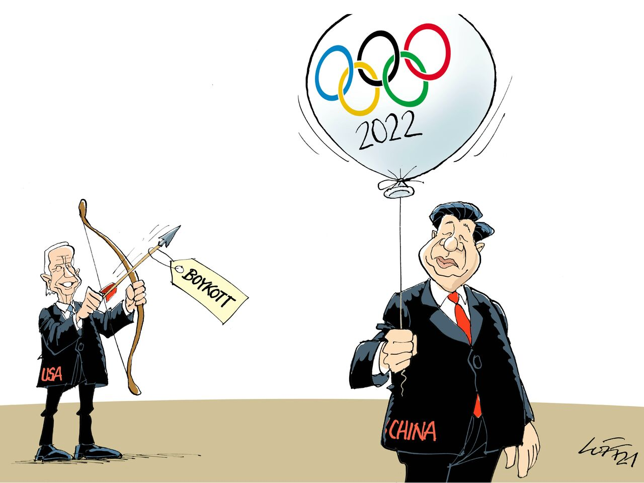 """A propos Menschenrechte, Herr Xi..."""